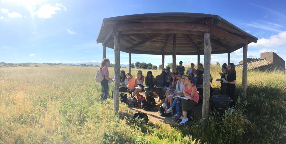 lecture in the field
